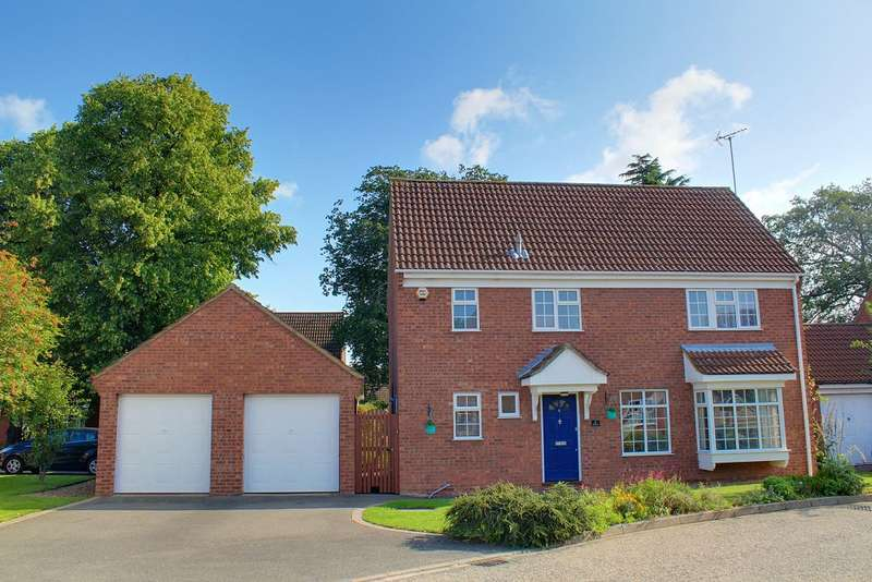 5 Bedrooms Detached House for sale in Delamere Close, Peterborough, PE1 4RX