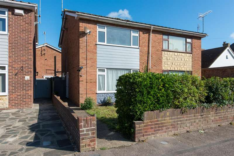 2 Bedrooms Semi Detached House for sale in Ethelred Road, Westgate-On-Sea