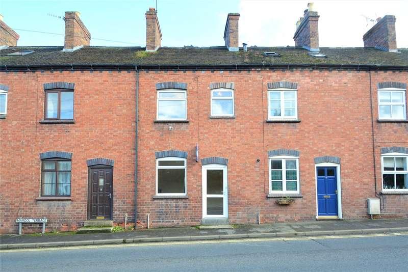 2 Bedrooms Terraced House for sale in 3 Mardol Terrace, Smithfield Road, Much Wenlock, Shropshire, TF13