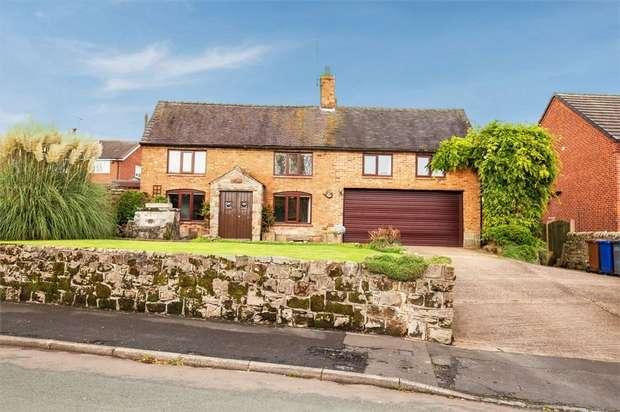 4 Bedrooms Detached House for sale in Marlpit Lane, Denstone, Uttoxeter, Staffordshire