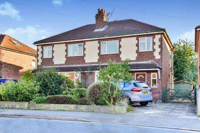 3 Bedrooms Semi Detached House for sale in Barlow Road, Wilmslow, Cheshire