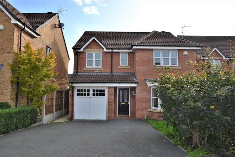4 Bedrooms Detached House for sale in Nettleton Close, Heatherton Village DE23