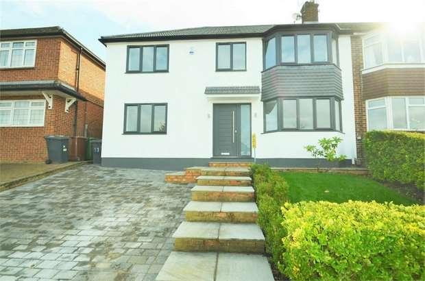 4 Bedrooms Semi Detached House for sale in Lullington Garth, Borehamwood, Hertfordshire
