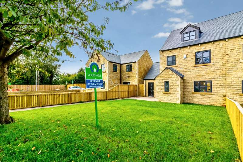4 Bedrooms Semi Detached House for sale in Cherry Tree Grove, Royston, Barnsley, South Yorkshire, S71