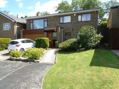 4 Bedrooms Detached House for sale in Westfields, School Aycliffe, Newton Aycliffe, Co Durham