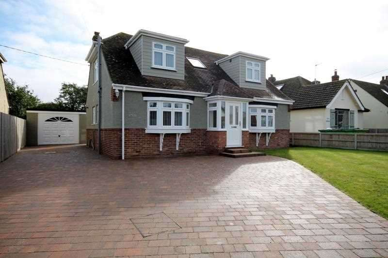 4 Bedrooms Detached House for sale in Halstead Road, Lower Kirby