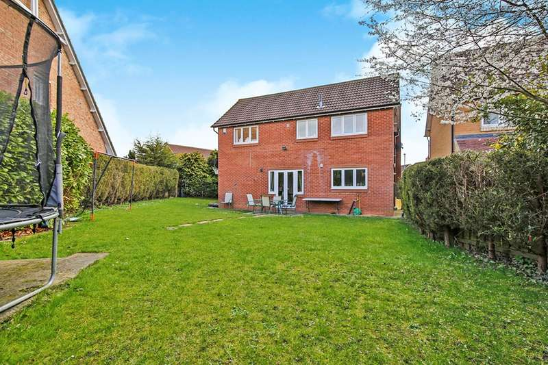 4 Bedrooms Detached House for sale in Bloomesley Close, Newton Aycliffe, County Durham, DL5