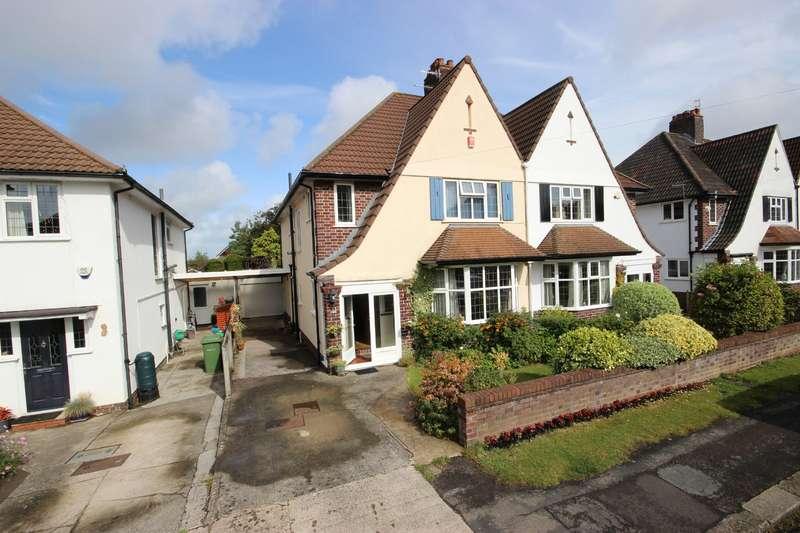 4 Bedrooms Detached House for sale in Oakwood Road, Henleaze, Bristol BS9