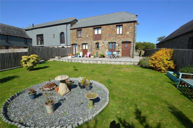 4 Bedrooms End Of Terrace House for sale in Stockadon Barns, St Mellion, Saltash, Cornwall