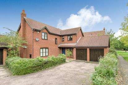 4 Bedrooms Detached House for sale in Walbank Grove, Shenley Brook End, Milton Keynes, Buckinghamshire