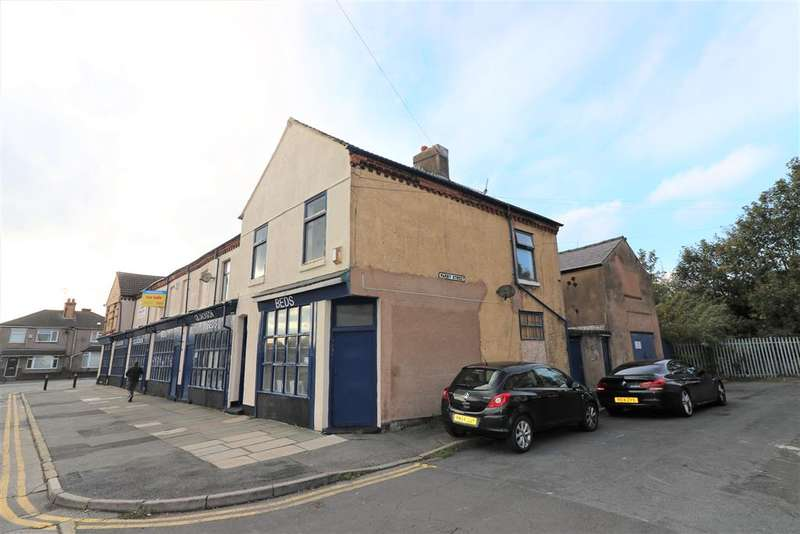 1 Bedroom Commercial Property for sale in St Pauls Road, Wallasey, CH44 7AW