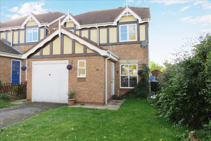 3 Bedrooms Detached House for sale in Eagle Drive, Sleaford