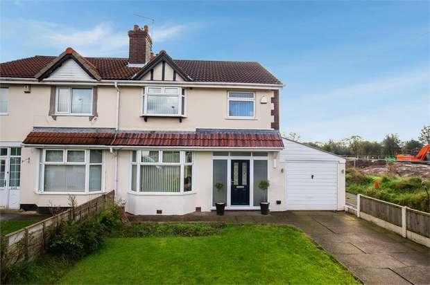 3 Bedrooms Semi Detached House for sale in Newton Road, Lowton, Warrington, Lancashire