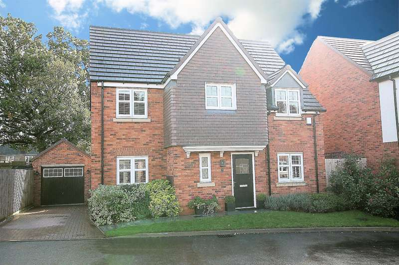 4 Bedrooms Detached House for sale in Old Marl Close, Four Oaks, B75 5NF