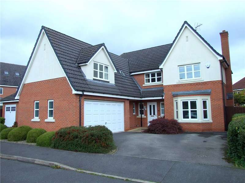 5 Bedrooms Detached House for sale in Coppice End Road, Allestree, Derby, Derbyshire, DE22