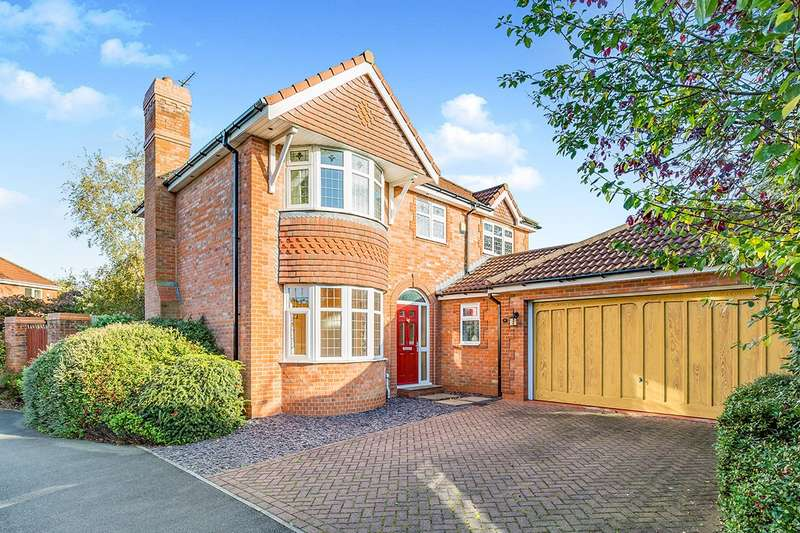 4 Bedrooms Detached House for sale in Leathercote, Garstang, Preston, Lancashire, PR3