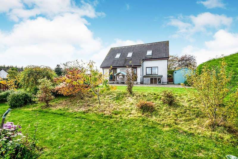 4 Bedrooms Detached House for sale in Woodholme Croft, Culbokie, Dingwall, Highland, IV7