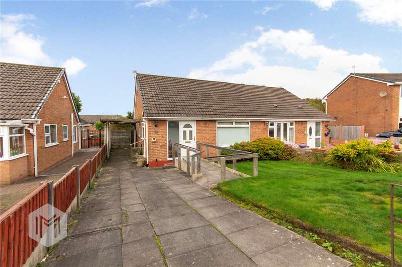 2 Bedrooms Semi Detached Bungalow for sale in Brook House Close, Bolton, Lancashire, BL2