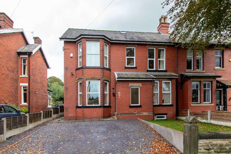 5 Bedrooms Semi Detached House for sale in Langley Road, Prestwich