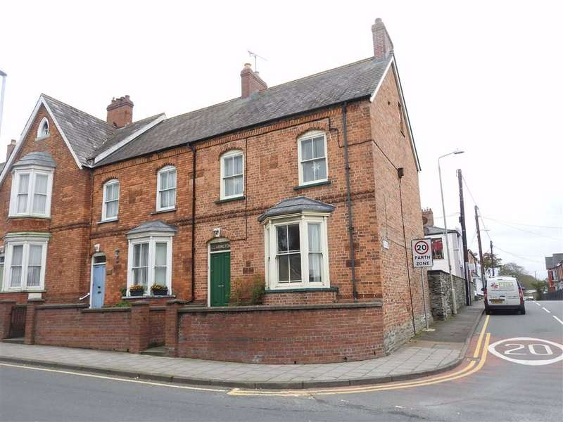 4 Bedrooms End Of Terrace House for sale in North Road, CARDIGAN TOWN, Ceredigion