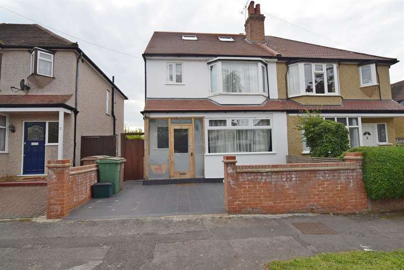 4 Bedrooms Semi Detached House for sale in Fieldsend Road, SM3