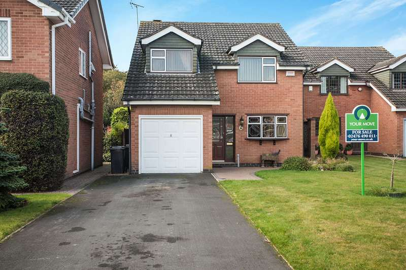 4 Bedrooms Detached House for sale in The Limes, Bedworth, Warwickshire, CV12
