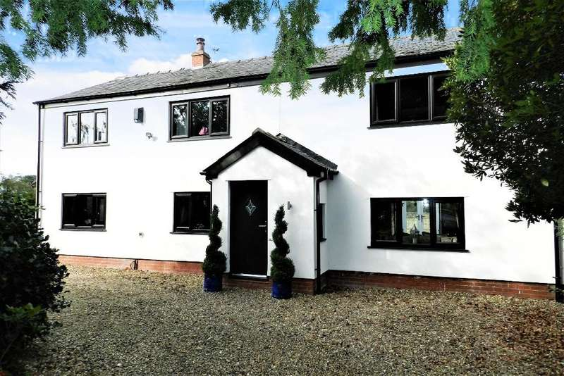3 Bedrooms Detached House for sale in Newton Road, Lowton, Nr Warrington, Cheshire, WA3 1JE