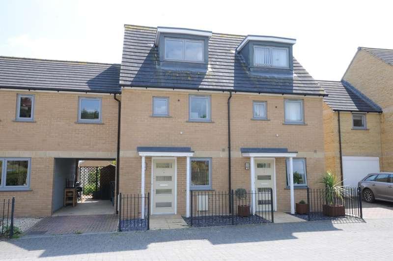 4 Bedrooms Terraced House for sale in Graces Field, Stroud, GL5 4EN