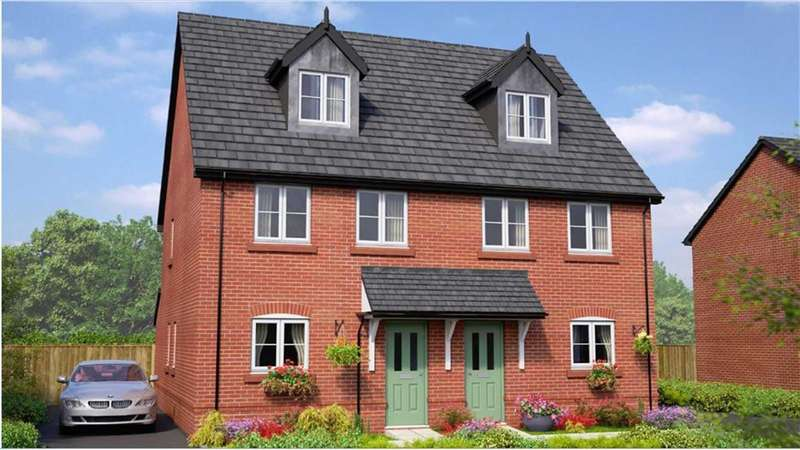 4 Bedrooms Semi Detached House for sale in The Brickworks, Bury, Greater Manchester