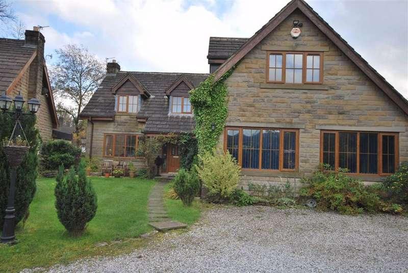 4 Bedrooms Detached House for sale in Hurst Lane, Rawtenstall, Lancashire, BB4