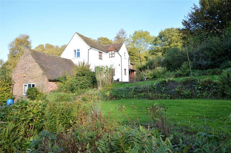 3 Bedrooms Detached House for sale in Wain House Cottage, Leath, Stanton Long, Much Wenlock, Shropshire, TF13