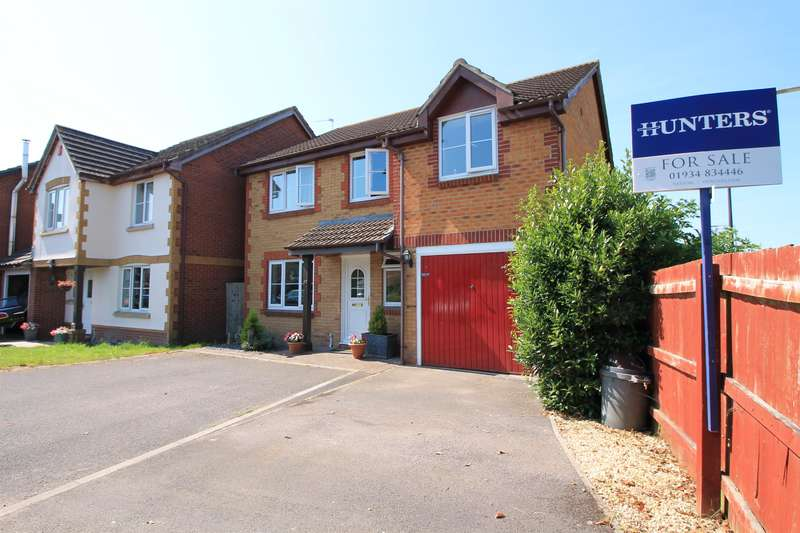 4 Bedrooms Detached House for sale in Briar Mead, Yatton, North Somerset, BS49 4RE
