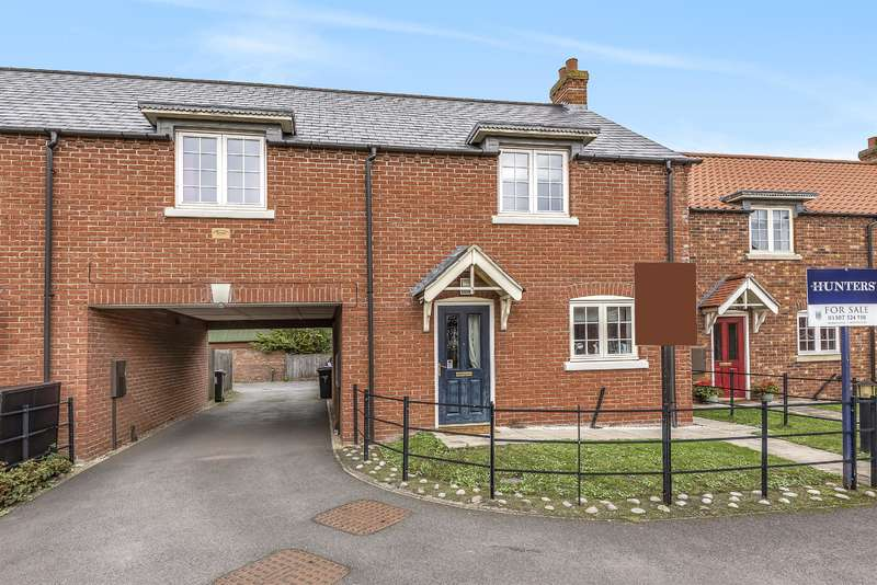 3 Bedrooms Semi Detached House for sale in Townhill Lane, Bucknall, Woodhall Spa, Lincs, LN10 5DS