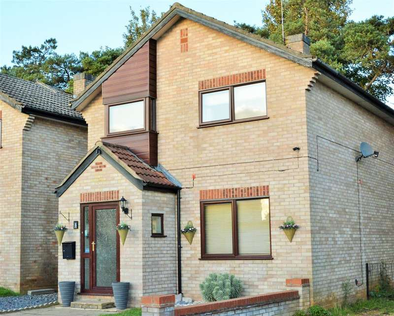 4 Bedrooms Detached House for sale in Cloverfield Estate, Thetford, Norfolk. IP24