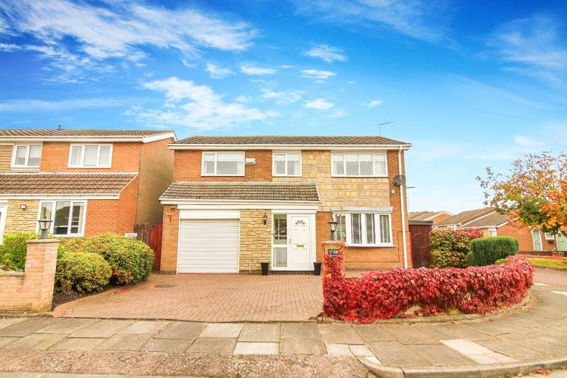 3 Bedrooms Detached House for sale in Thornley Close, Whickham