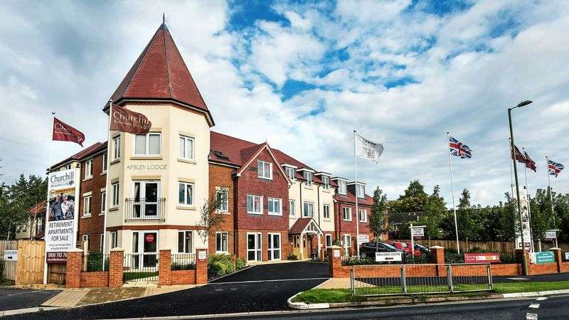 2 Bedrooms Property for sale in Apsley Lodge, Waterlooville: **LAST APARTMENT REMAINING!**