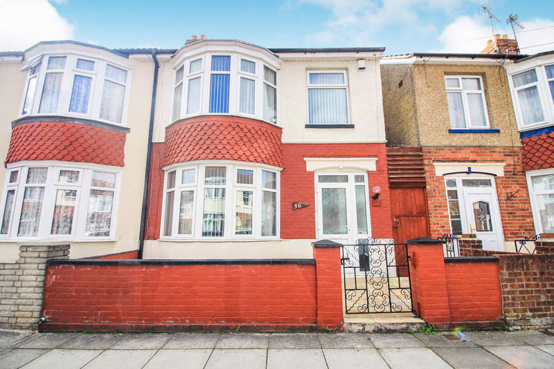 3 Bedrooms Semi Detached House for sale in Lovett Road, Portsmouth