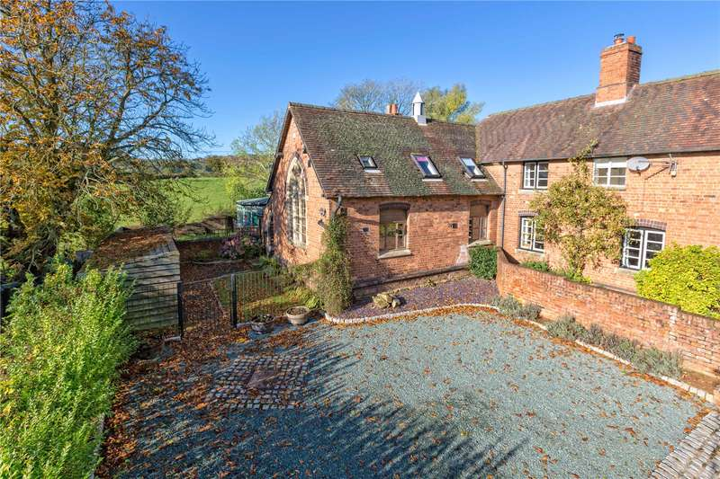 3 Bedrooms End Of Terrace House for sale in Big Class, School House, Coreley, Ludlow, Shropshire, SY8