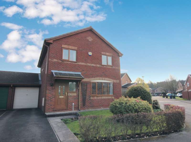 3 Bedrooms Detached House for sale in Ashurst Gardens, Skelmersdale, Lancashire, WN8