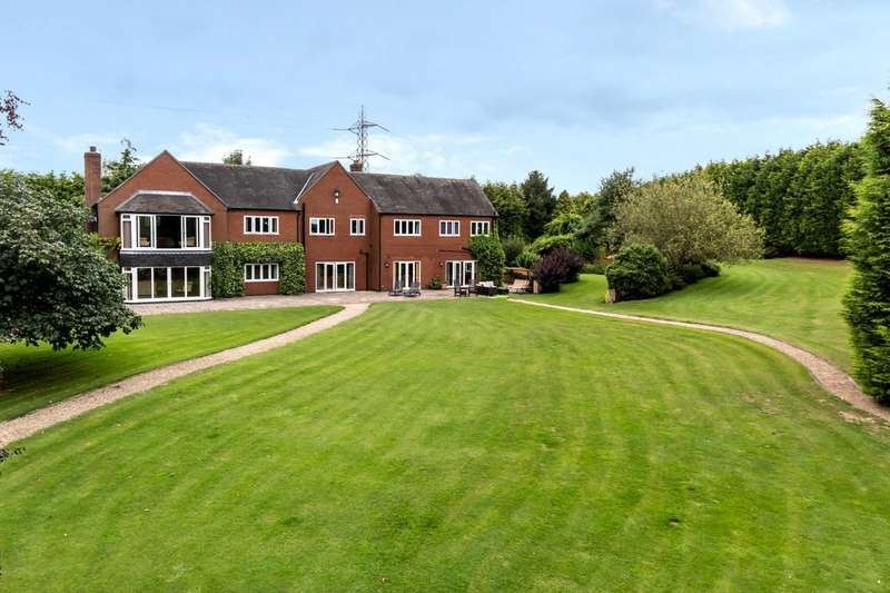 6 Bedrooms Detached House for sale in Oldicote Lane, Bretby