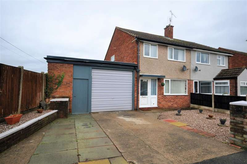 3 Bedrooms Semi Detached House for sale in Cleves Close, Blacon, Chester