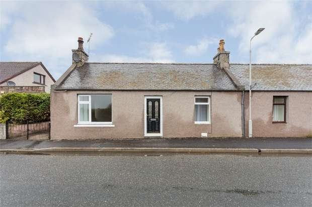 2 Bedrooms Semi Detached Bungalow for sale in Kingsfield Road, Kintore, Inverurie, Aberdeenshire