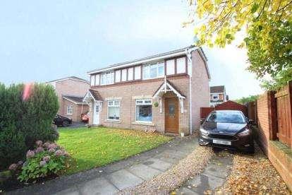 3 Bedrooms Semi Detached House for sale in Glentanar Drive, Moodiesburn, Glasgow, North Lanarkshire