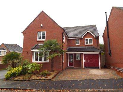 4 Bedrooms Detached House for sale in Nightingale Walk, Burntwood, Staffordshire, .