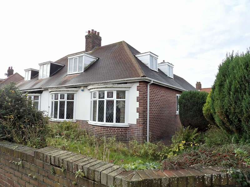 3 Bedrooms Bungalow for sale in Sunnirise, South Shields, South Shields, Tyne and Wear, NE34 8DN