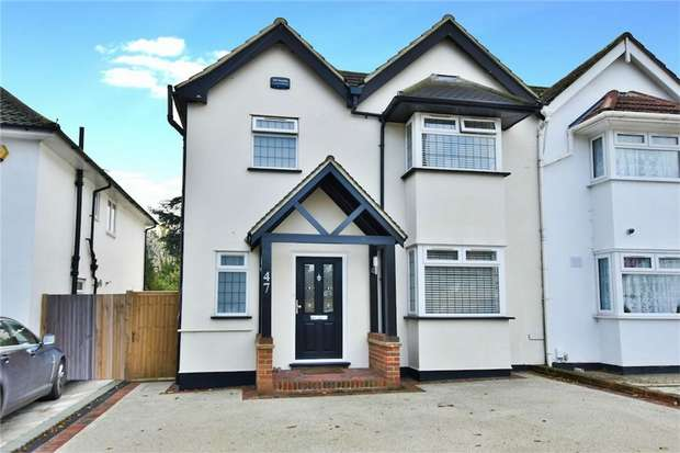 4 Bedrooms Semi Detached House for sale in Somerset Way, Richings Park, Buckinghamshire