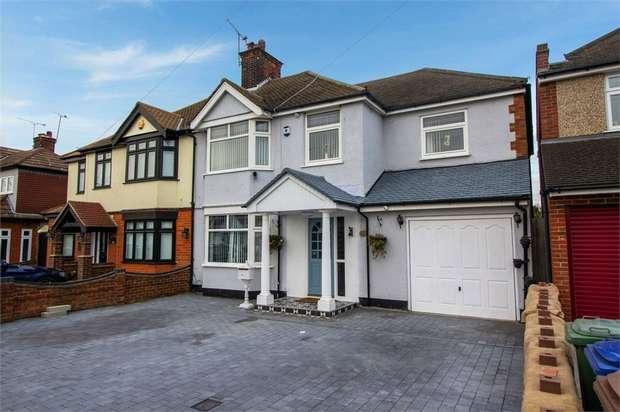 5 Bedrooms Semi Detached House for sale in Blackshots Lane, Grays, Essex