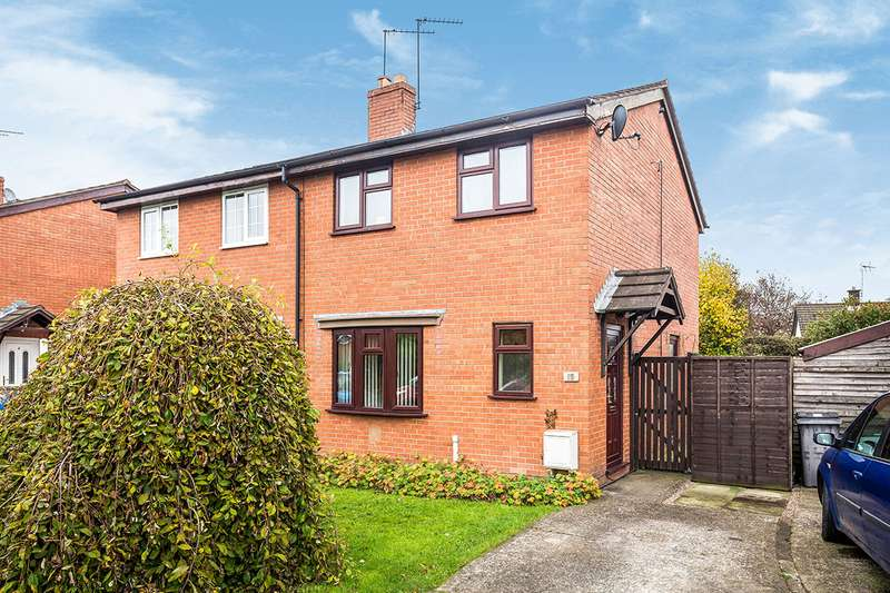 3 Bedrooms Semi Detached House for sale in Cherry Tree Drive, St. Martins, Oswestry, Shropshire, SY11