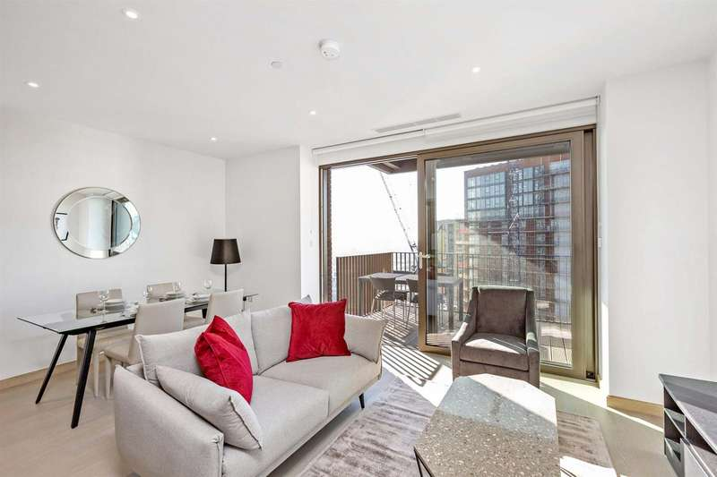 1 Bedroom Flat for sale in Legacy Building, Embassy Gardens, Nine Elms, London SW8