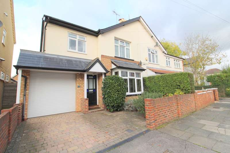 4 Bedrooms Semi Detached House for sale in Stanley Road, Ashford, TW15